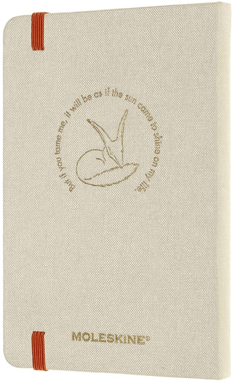 Agenda 2021 Moleskine 12 Month Weekly Notebook Planner Le Petit Prince Fox Hardcover Pocket Moleskine