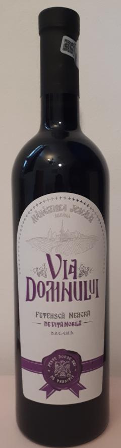 Vin rosu - Via Domnului, Manastirea Jercalai, Feteasca Neagra, sec, 2018