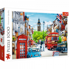 Puzzle 1000 piese - London street