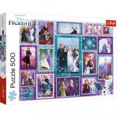 Puzzle - Universul Frozen, 500 piese