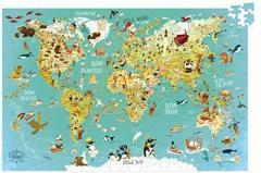 Puzzle 500 piese - Harta Lumii