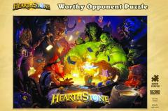 Puzzle 1000 piese - Hearthstone - Worthy Opponent