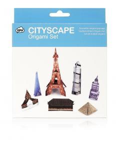 Origami Cityscape