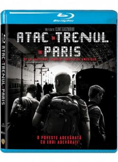 Atac in trenul de Paris (Blu Ray Disc) / The 15:17 to Paris