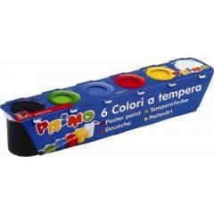 Acuarele tempera 6 culori