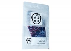 Masca textila din bumbac cu dry-cool - Transhumanta astrala - Marime M