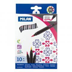 Carioca Tip Pensula10 Culori - Milan