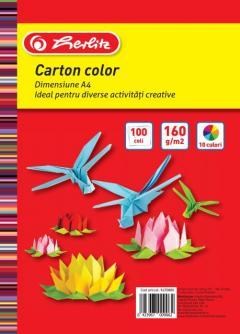 Carton colorat - 100 Coli