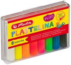 Plastilina - Set 8 culori fluorescente