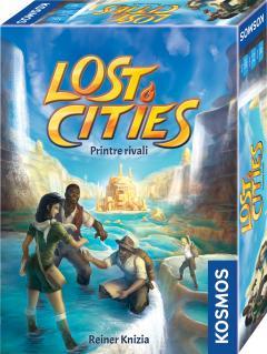 Joc - Lost Cities - Printre Rivali