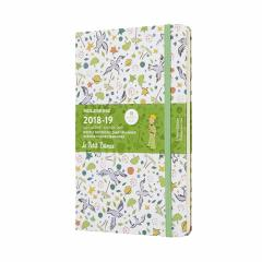 Agenda - Moleskine Limited Edition Notebook Large Weekly 18-Month Diary Le Petit Prince 2018-2019