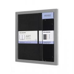 Moleskine Art Collection Sketching Kit - Large Book and Drawing Pencils