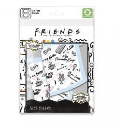 Set 2 Masti reutilizabile - Friends