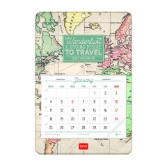 Calendar 2021 - 13-Month - Travel