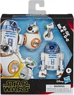 Figurine - Star Wars - The Rise of Skywalker - R2-D2, BB-8, D-0
