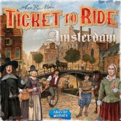 Joc - Ticket to Ride - Amsterdam