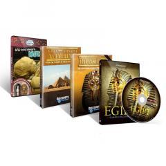 Colectia Discovery: Totul Despre Egipt (4 DVD-uri)