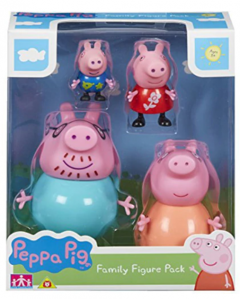 Set figurine Peppa Pig - Family pack