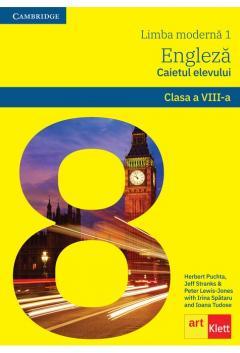 Limba engleza. Clasa a VIII-a. Caietul elevului + CD