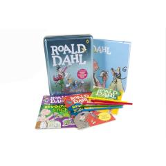 Roald Dahl Book and Tin