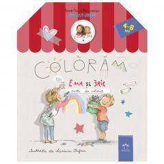 Coloram cu Ema si Eric - carte de colorat