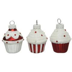 Set 6 globuri - Sweet Cupcakes