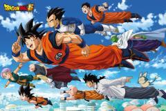 Poster - Dragon Ball Z - Super Flying