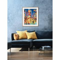 Kit pictura cu numere - New York Time Square, 40x50 cm