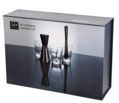 Set pentru cocktail - Caipirinha Cocktailset Dry Collection