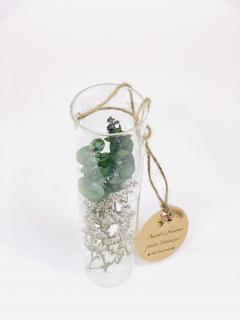Tub sticla plante prezervate flori uscate