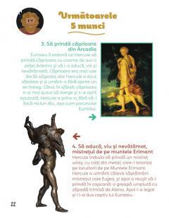 Povestea mea de seara: Hercule si cele 12 munci legendare