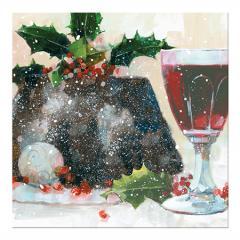 Felicitare Craciun - Mistletoe