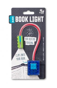 Lampa pentru citit - Blocky Book Light - Blue