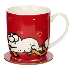 Cana cu suport - Simon's Cat - Christmas