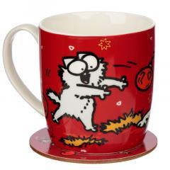 Cana cu suport - Simon's Cat - Christmas