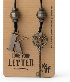 Semn de carte - Book Keepers - Letter K