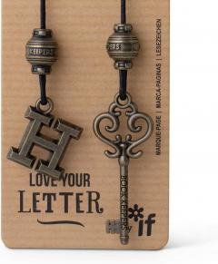 Semn de carte - Book Keepers - Letter H