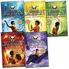 Percy Jackson Book Collection - 5 Books