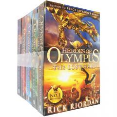 Heroes of Olympus 5 Books