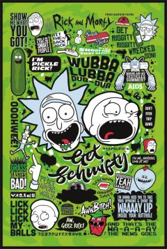 Poster maxi - Rick and Morty