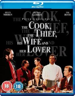 The Cook, The Thief, His Wife and Her Lover - Blu Ray Disc