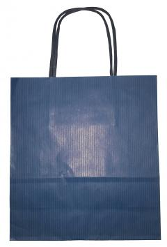 Punga pentru cadou - albastra - medie