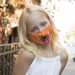 Masca de protectie faciala - Dog Kid's Mask