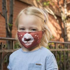 Masca de protectie faciala - Bear Kid's Mask