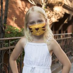 Masca de protectie faciala - Tiger Kid's Mask