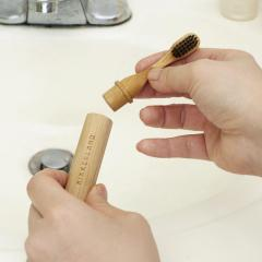 Periuta de dinti - On-the-Go Bamboo Toothbrush