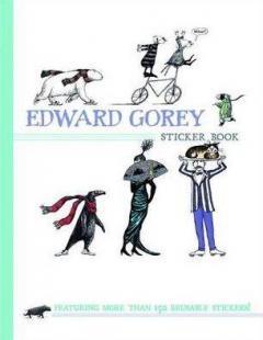 Edward Gorey Sticker Book