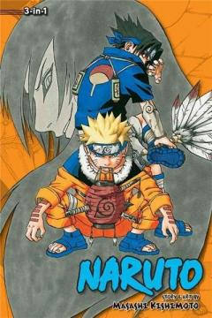 Naruto (3-in-1 Edition) Vol. 3 - The Last Chance