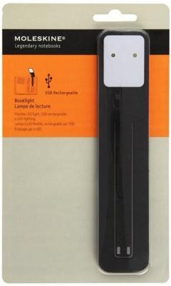 Moleskine - lampa pentru citit.  Neagra