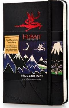 Moleskine The Hobbit Limited Edition Ruled Pocket Notebook Black